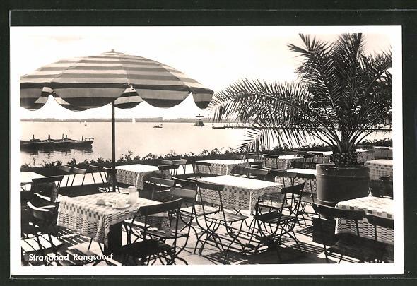 Das Lido Rangsdorf in den 20er Jahren